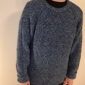 Blue Brian MacNeil sweater